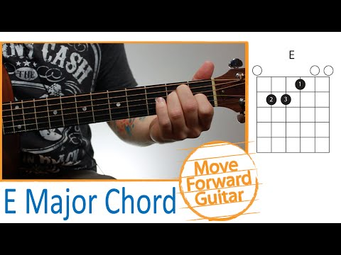 Guitar Chords for Beginners - E Major