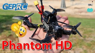Geprc Phantom HD - Review, Setup & Flight Footage