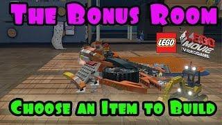 The Lego Movie Video Game: Choose An Item To Build (The Bonus Room)