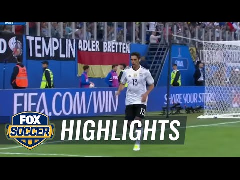 Lars Stindl puts Germany in front against Chile | 2017 FIFA Confederations Cup Highlights