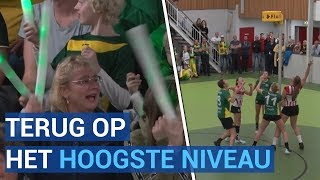 Na 14 jaar weer topkorfbal in Wormer met Groen Geel