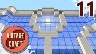 Minecraft VintageCraft Season 2 - EP11 - Glass Surround! (Gameplay Video)