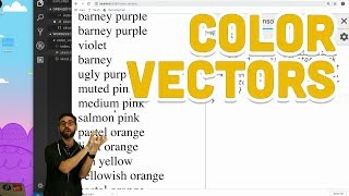 12.2: Color Vectors - Programming with Text