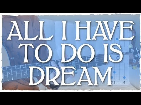 """""""All I Have To Do Is Dream"""" Guitar Tutorial - Everly Brothers"""