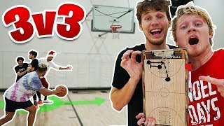2HYPE 'RUN A PLAY' 3v3 BASKETBALL!