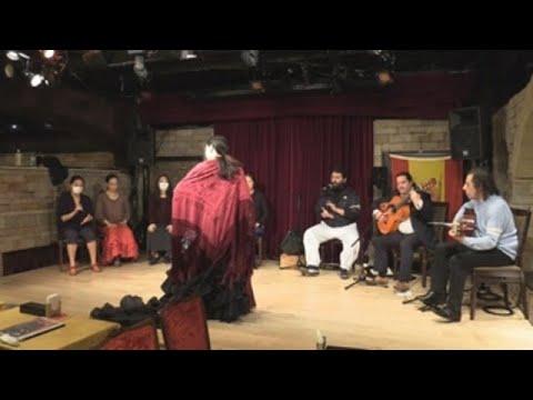 Desde hace 20 años, El Niño Cagao canta flamenco en tablaos de todo Japón