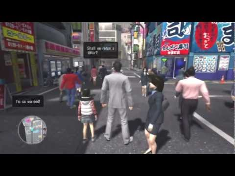 Let's Play Yakuza 3: Ultimate Commentary Edition in HD | Part 4 ~  Eavesdropping like a Ninja - Masamaki21