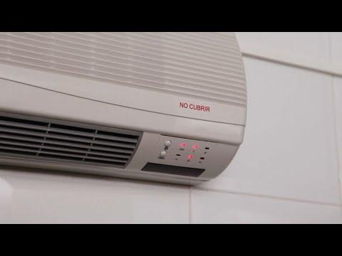 Cómo instalar un calefactor eléctrico de pared - Hogarmanía