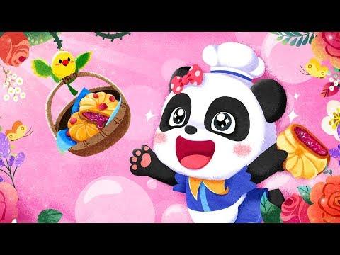Vídeo do Flor da moda da Pequena Panda