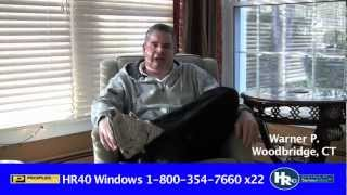 Warner P. - Windows Testimonial
