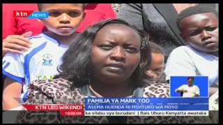 KTN Leo Wikendi: Mkewe marehemu Mark Too, Sophie Too ametoa wito kwa Wakenya kutokueneza uvumi