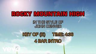 John Denver – Rocky Mountain High