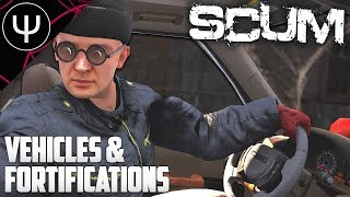 SCUM — Vehicles and Fortification Info & M16/Naval Base MAJOR Update!