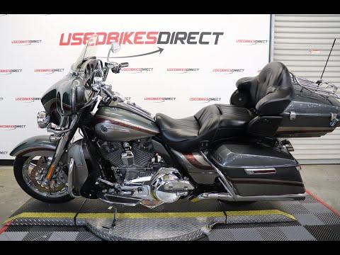 2016 Harley-Davidson Electra Glide CVO Limited at Friendly Powersports Slidell