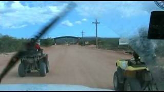 preview picture of video 'RALLY CAMINOS FRONTERIZOS 2009-SALIDA PEDERNALES A CABO ROJO,REPUBLICA DOMINICANA.'