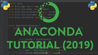 Anaconda Tutorial 2019 - Python Virtual Environment Manager