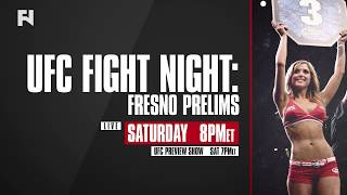 UFC Fight Night Fresno Prelims LIVE Sat., Dec. 9 at 8 p.m. ET on FN Canada