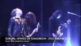 WINGS OF TOMORROW (Europe, 1984) live @ Stockholm (SE) - March 3, 2014