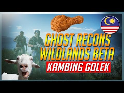✶ Game ni ade AYAM KFC? ✶ Ghost Recons Wildlands CLOSED BETA | Malaysia (PS4)