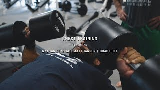 Chest Training | Feat Nathan Deasha | Project X 18