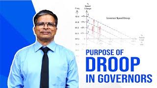 Purpose of Droop in Governors | V. R. Venkatesan