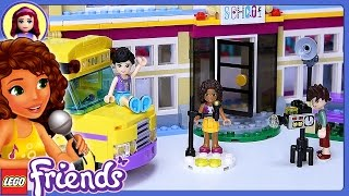 LEGO Friends Heartlake Performance School Build Review Silly Play - Kids Toys