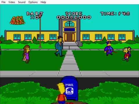 Virtual Bart (Genesis) Speedrun (WR) in 25: 48 [Obsolete]