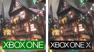 We Happy Few | ONE vs ONE X | 4K Graphics & Framerate Test | Comparativa