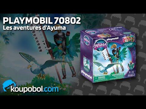 Vidéo PLAYMOBIL Ayuma 70802 : Knight Fairy avec animal préféré