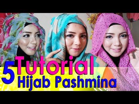 Video 5 Video Cara Memakai Jilbab Pashmina by  AWMCollection