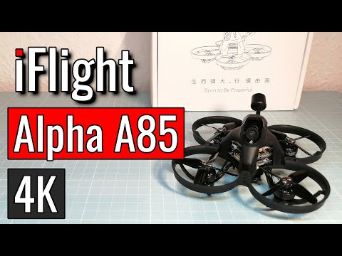 Banggood iFlight Alpha A85 - Unboxing & Testflight