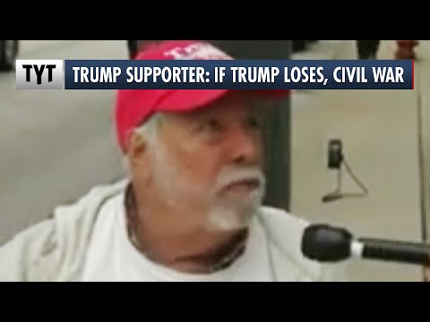 Trump Supporter: If Trump Loses It's Time For A Civil War