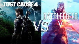Голосование. Кто круче Battlefield V или Just Cause 4 ???