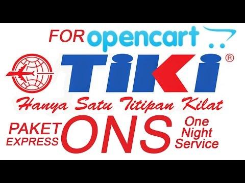 Cara Pasang TIKI ONS One Night Service Untuk Toko Online Opencart v 2 1