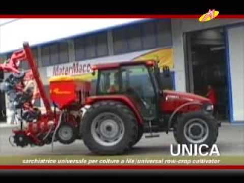 MaterMacc Unica PVI sorközkultivátor