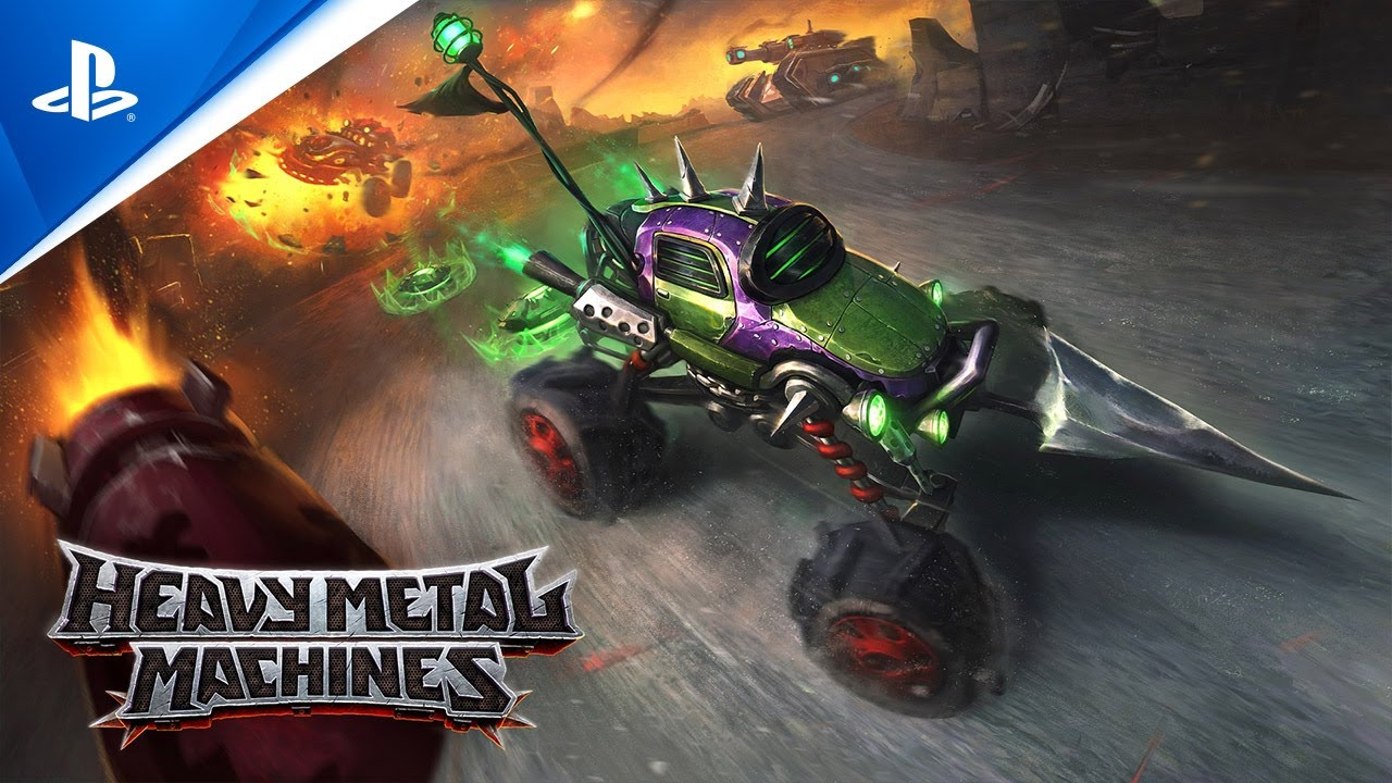 Vehicular combat battler Heavy Metal Machines launches on PS4 and PS5 tomorrow