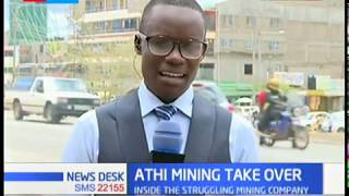 Receiver manager takes over Athi River mining company as he hopes to revive it.