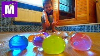 Выращиваем в воде большие шары орбиз