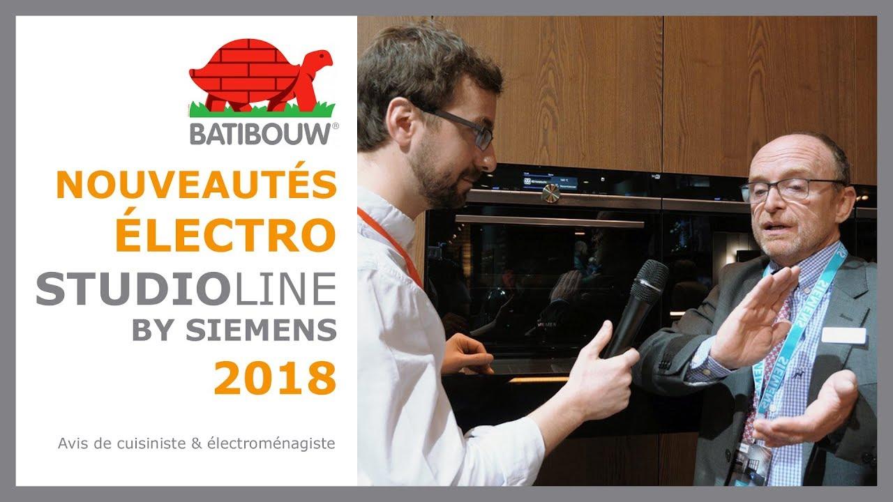 SIEMENS StudioLine, une ligne électroménagers pour les experts