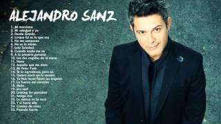 Alejandro Sanz sus Mejores Exitos Baladas Románticas - Exitos MIX