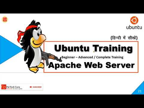 How To Apache Web Server in Linux   Ubuntu Training in Hindi Part ...