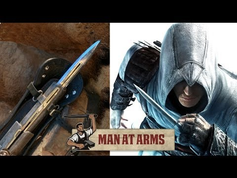 Hidden Blade & Pirate Cutlass (Assassin's Creed 4)