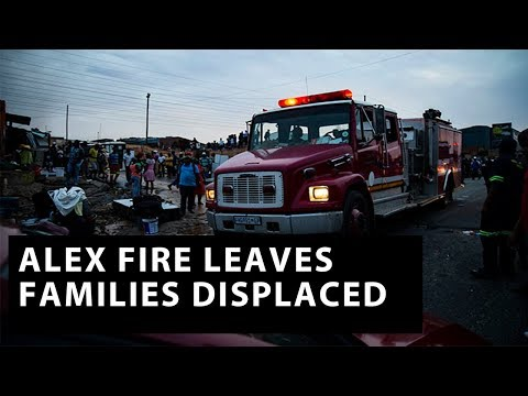 Alex fire leaves thousands displaced
