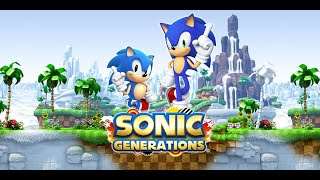 "Sonic Generations, All Rank ""S"" за один стрим [1440p60]"