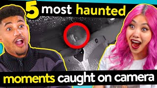 5 Most Haunted Moments CAUGHT On Camera | REACT