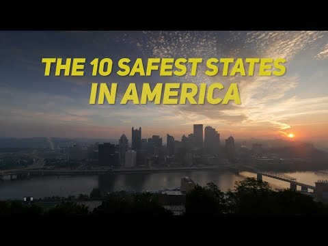 The 10 SAFEST STATES in AMERICA