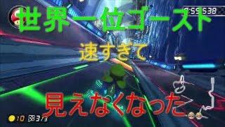 【マリオカート8DX】一般人と世界一位の比較【タイムアタック】
