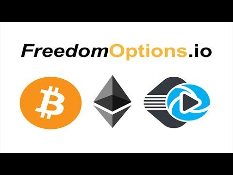 Ganhe U$15 Dólares Muito Fácil no Airdrop FreedomOptions + BTC & ETH Grátis !