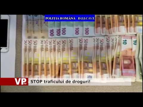 STOP traficului de droguri!