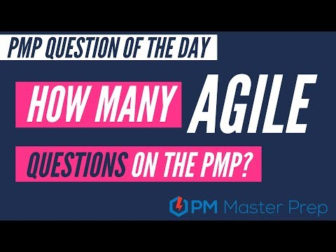 How many agile questions on the PMP exam Short - YouTube